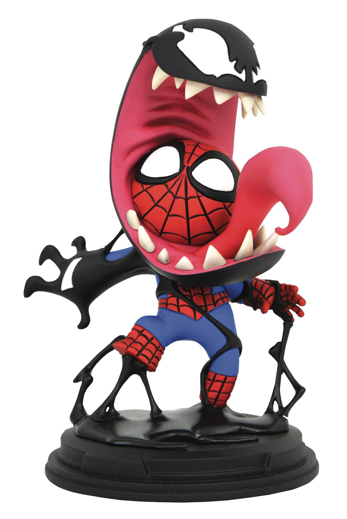 Diamond Marvel Venom & Spider-Man Animated Statue
